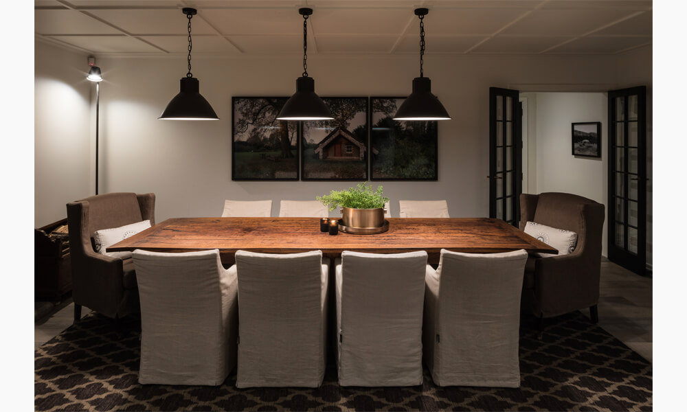 Summerlee Lodge Interiors Dining Room
